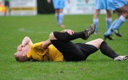 blessure au football