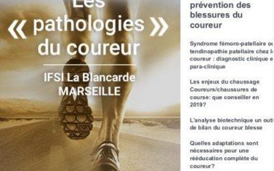 Participez a la soiree sur les pathologies du coureur le 13 septembre à Marseille